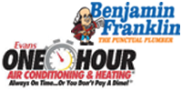 Website for One Hour Air Conditioning & Heating