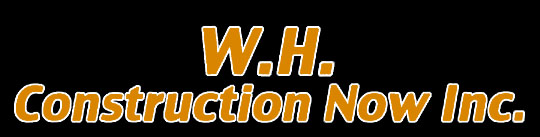 Website for WH Construction Now, Inc.