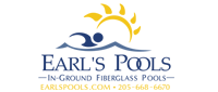 Website for Earl's Spas & Pools of Pelham, Inc.