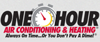 Website for Evans One Hour Air Conditioning & Heating, Inc. and Benjamin Franklin Plumbing