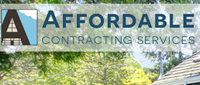 Website for Affordable Contracting Service