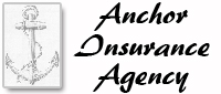 Website for Anchor Insurance Agency