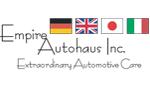 Website for Empire Autohaus, Inc.