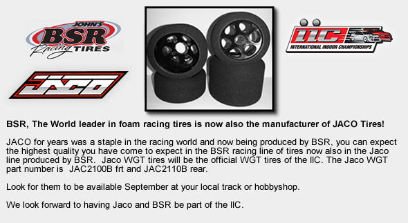 JACO produced by John's BSR Racing Tires