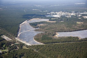 The Largest Solar Farm in the Northeast United States - the Long Island Solar Farm