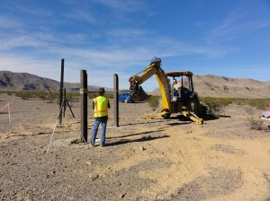 Lateral pile load testing