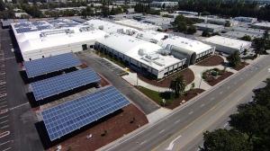 Fortinet Solar Campus in Santa Clara, CA