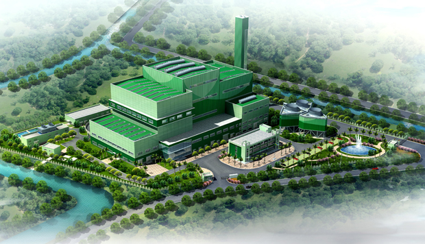 Image result for first solid waste power plant