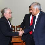 IFAC President Meets Prime Minister Ranil Wickremesinghe