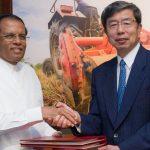 Sri Lanka's President Maithripala Sirisena Visits ADB, Discusses Development Challenges