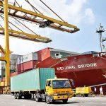 Cargo Vessel MV Beijing Bridge makes maiden call at Colombo Port's Jaya Container Terminal