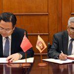 Concessional Loan of US$ 989 million from the EXIM Bank of China for Central Expressway Project - Section 1 from Kadawatha to Meerigama