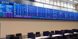 Stocks end higher; rupee strengthens