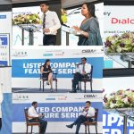 Commercial Bank and Dialog Axiata engages local investors at CSE - CSBA Listed Company Feature Event
