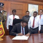 S.R. Attygalle assumes duties as Secretary to Finance Ministry
