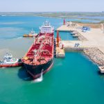 First Bunkering ship discharges low sulphur fuel at HIP