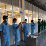 Robot to assist staff at newly opened hospital in Iranawila dedicated to combating Coronavirus