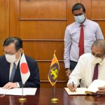 Japanese grant aid of Rs 1,360 mn for provisioning necessary medical equipment to combat against COVID -19 global pandemic
