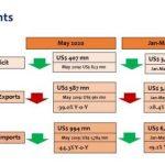 Sri Lanka's trade deficit narrows in May 2020
