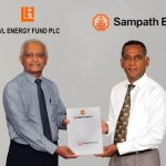 Sampath Bank Concludes Landmark Rs.750Million Structuring and Investing in LVL Energy Fund PLC's Unlisted Corporate Bond
