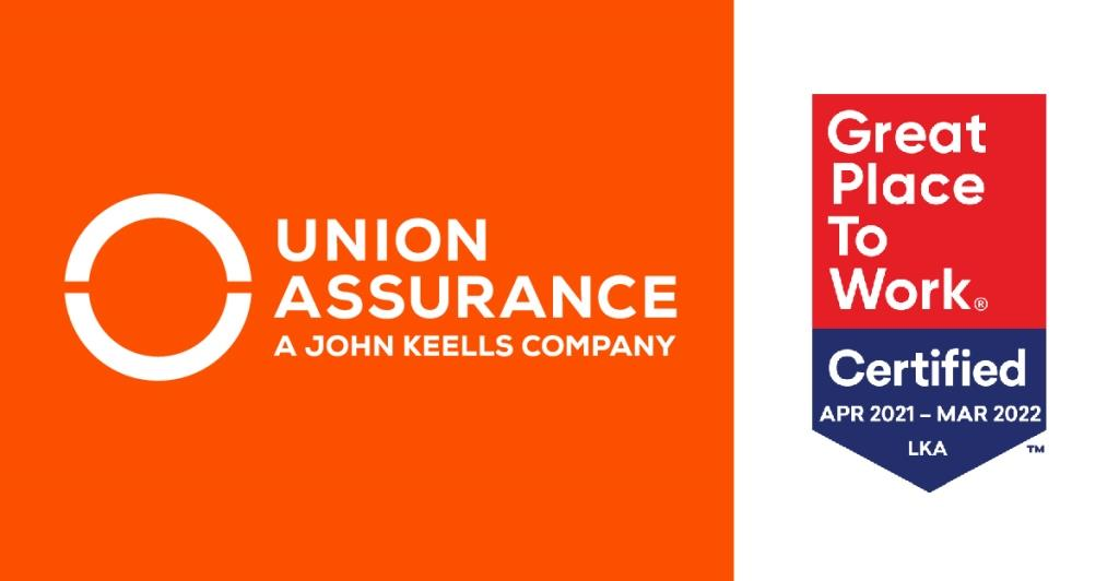 Union Assurance recognized as a Best Workplace in Sri Lanka