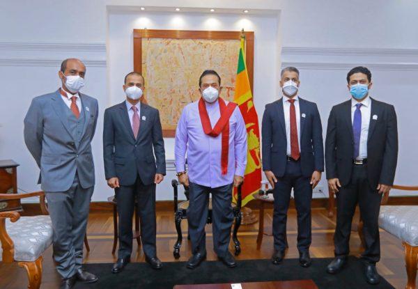 Prime Minister Mahinda Rajapaksa meets with Omani Investors - Adaderana Biz  English   Sri Lanka Business News