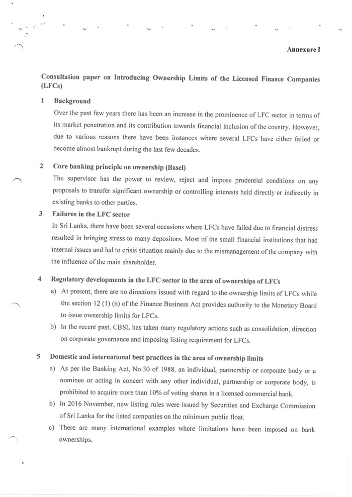 Thread for News on CSE and SL Economy  - Page 12 Consultation_papers_20190516_Introduction_of_Ownership_Limits_of_the_Licensed_Finance_Companies_e-3