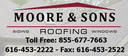 Moore & Sons Roofing, Inc.