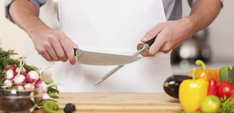Knife sharpened on steel (1) listing