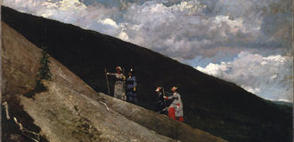 Winslow homer   in the mountains   google art project listing