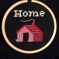Cross stitch big square