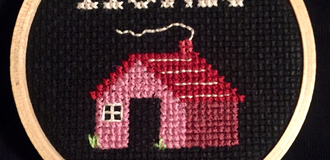 Cross stitch listing