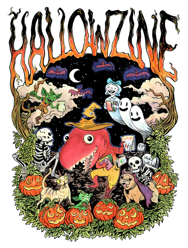 Hallowzine blog
