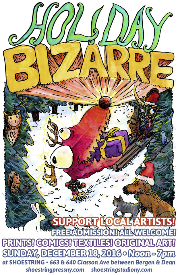 Holiday bizarre blog