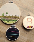 Embroidery hoops fourwide
