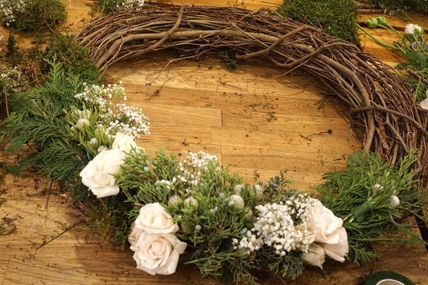 Spring floral wreaths image mightylinksfo