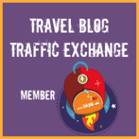 Member of the travel blog traffic exchange