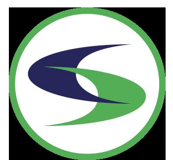 Cs logo white