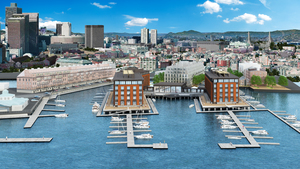 Lewis wharf hotel north end boston proposed waterfront development project