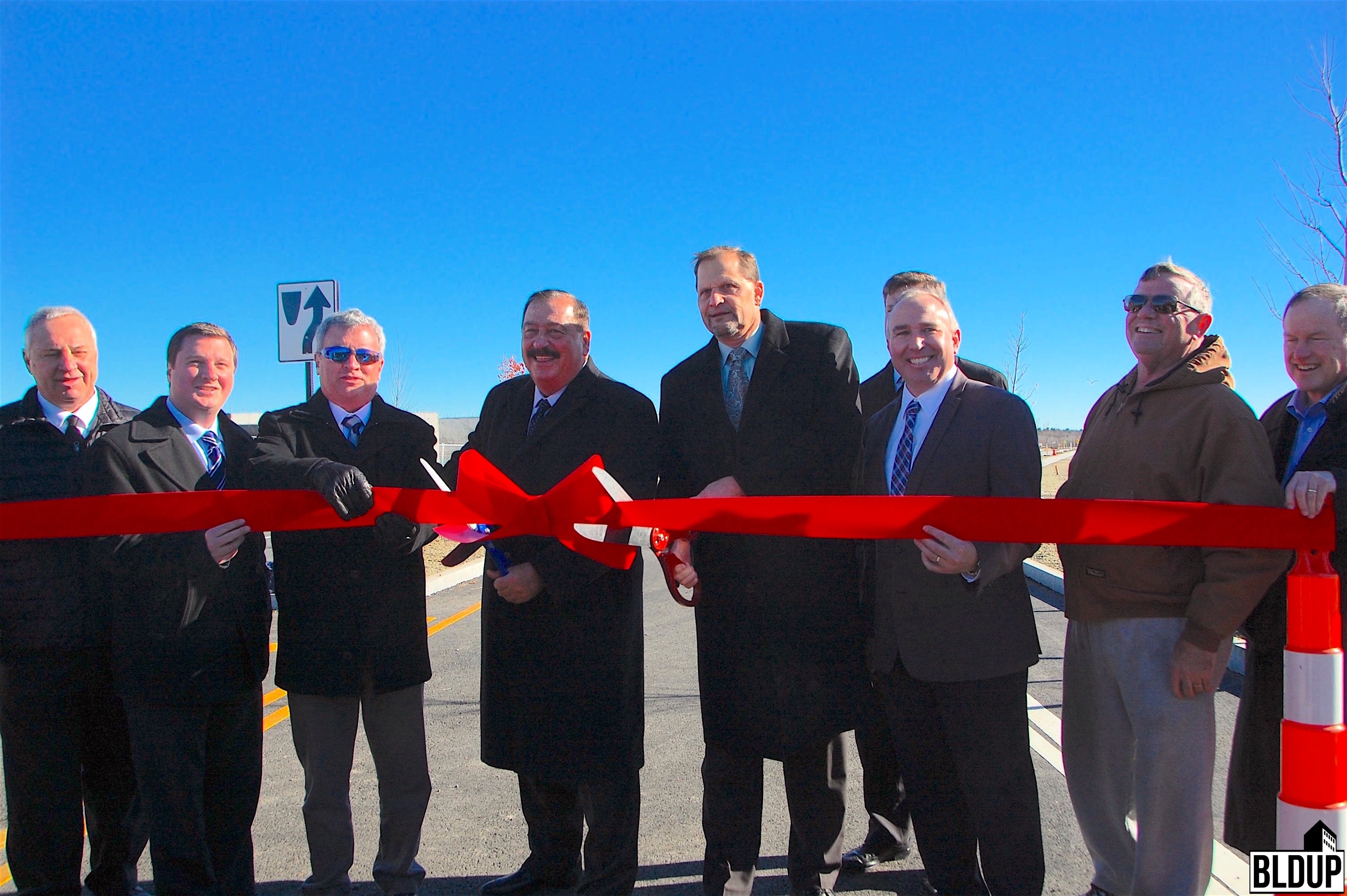 Union point south weymouth patriot parkway ribbon cutting