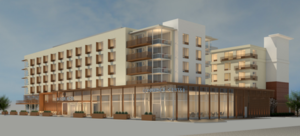 Bayside doubletree hotel expansion project dorchester corcoran jennison arrowstreet