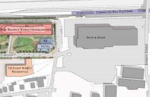 Boston landing development plan