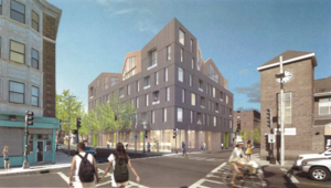 3353 washington street jamaica plain jp proposed mixed use residential retail building boston community ventures interface studio architects project rendering 1