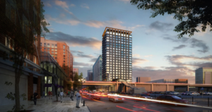 Waterside place phase 1b 501 congress street seaport district south boston waterfront drew company hym investment group cbt architects project rendering