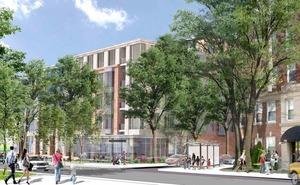 Avalon brighton washington street apartment condominium residential building development avalon bay rendering