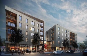 3200 washington street egleston square jamaica plain mixed use residential retail development berkeley investments rode architects