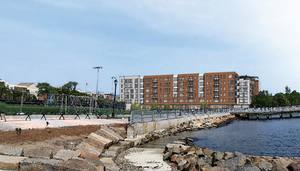 99 sumner street hodge boiler works proposed residential commercial development east boston waterfront mbta blue line the davis companies
