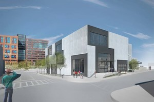 Artists for humanity expansion 100 west second street south boston behnisch architekten