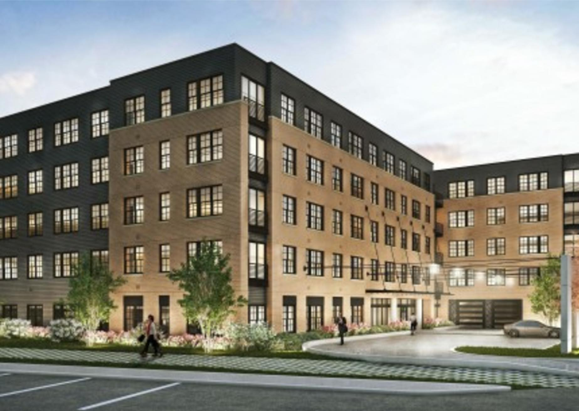 The edison on the charles 20 cooper street residential apartment new construction development downtown waltham