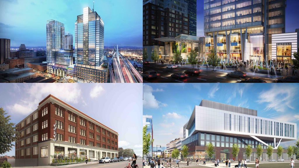 Boston area top new construction office buildings developments